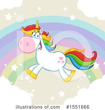 Unicorn Clipart #1551666 by Hit Toon