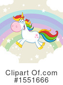 Royalty-Free (RF) Unicorn Clipart Illustration #1551666