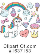 Unicorn Clipart #1637153 by visekart