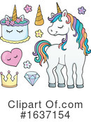 Unicorn Clipart #1637154 by visekart