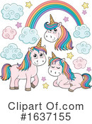 Unicorn Clipart #1637155 by visekart