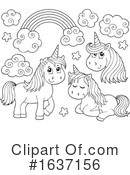 Unicorn Clipart #1637156 by visekart