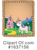 Unicorn Clipart #1637158 by visekart