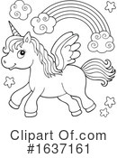 Unicorn Clipart #1637161 by visekart