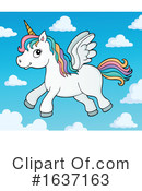 Unicorn Clipart #1637163 by visekart