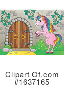 Unicorn Clipart #1637165 by visekart