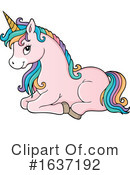 Unicorn Clipart #1637192 by visekart
