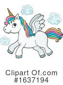 Unicorn Clipart #1637194 by visekart