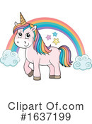 Unicorn Clipart #1637199 by visekart