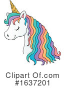 Unicorn Clipart #1637201 by visekart