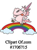 Unicorn Clipart #1706715 by toonaday