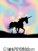 Unicorn Clipart #1721660 by KJ Pargeter