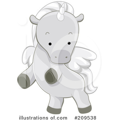 Pegasus Clipart #209538 by BNP Design Studio