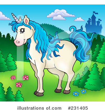 Unicorn Clipart #231405 by visekart