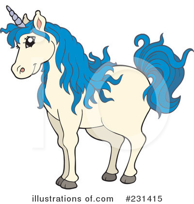 Unicorn Clipart #231415 by visekart