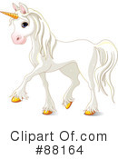 Royalty-Free (RF) Unicorn Clipart Illustration #88164