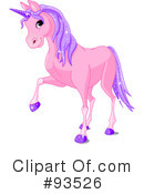 Royalty-Free (RF) Unicorn Clipart Illustration #93526