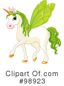 Unicorn Clipart #98923 by Pushkin