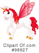 Unicorn Clipart #98927 by Pushkin
