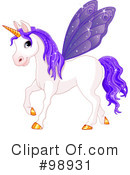 Royalty-Free (RF) Unicorn Clipart Illustration #98931