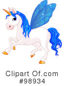 Unicorn Clipart #98934 by Pushkin