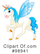 Unicorn Clipart #98941 by Pushkin