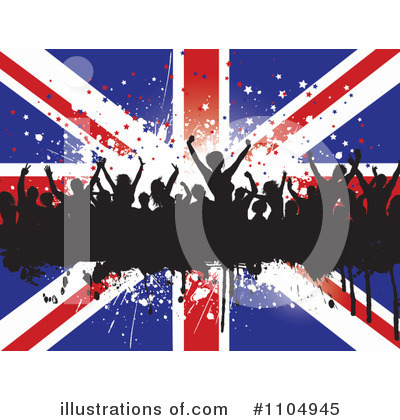Royalty-Free (RF) Union Jack Clipart Illustration by KJ Pargeter - Stock Sample #1104945