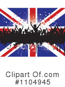 Royalty-Free (RF) Union Jack Clipart Illustration #1104945