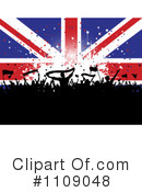 Royalty-Free (RF) Union Jack Clipart Illustration #1109048