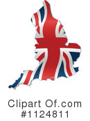 Royalty-Free (RF) Union Jack Clipart Illustration #1124811