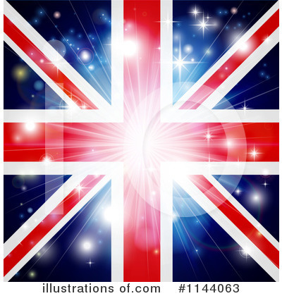 Royalty-Free (RF) Union Jack Clipart Illustration by AtStockIllustration - Stock Sample #1144063