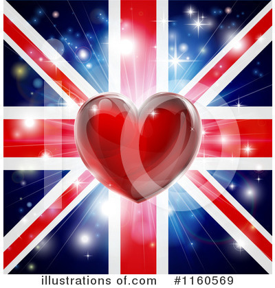 Union Jack Clipart #1160569 by AtStockIllustration