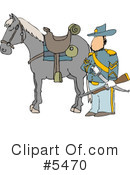 Royalty-Free (RF) Union Soldier Clipart Illustration #5470