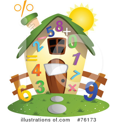 Unique House Clipart #76173 by BNP Design Studio