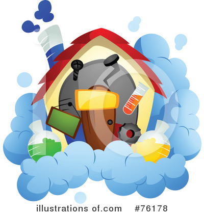 Unique House Clipart #76178 by BNP Design Studio