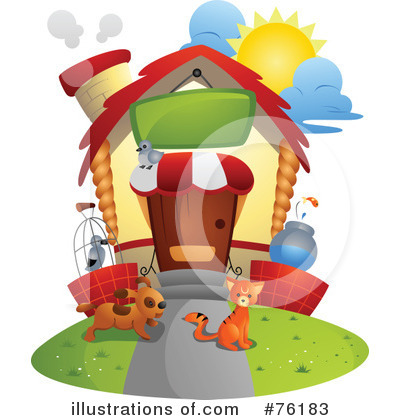 Unique House Clipart #76183 by BNP Design Studio