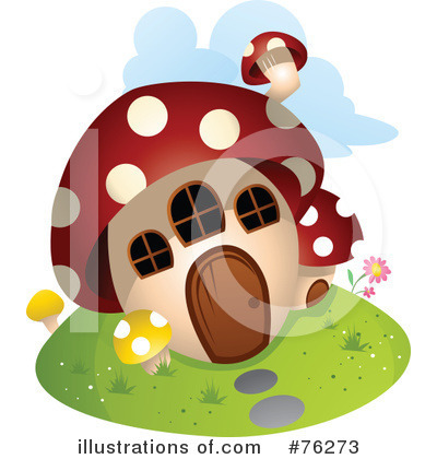 Royalty-Free (RF) Unique House Clipart Illustration by BNP Design Studio - Stock Sample #76273