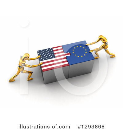 American Flag Clipart #1293868 by stockillustrations