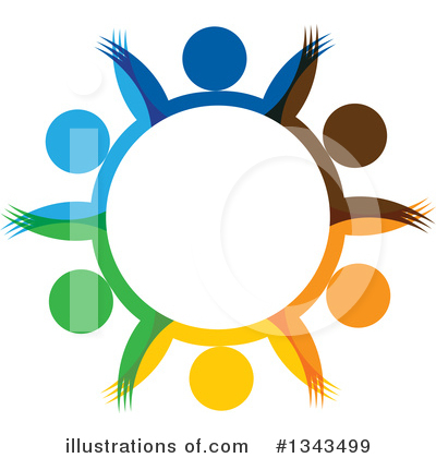 Royalty-Free (RF) Unity Clipart Illustration by ColorMagic - Stock Sample #1343499