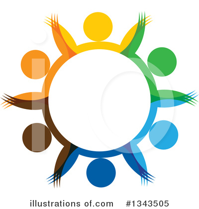 Royalty-Free (RF) Unity Clipart Illustration by ColorMagic - Stock Sample #1343505