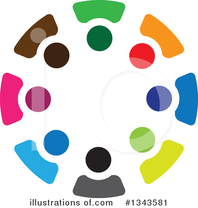 Royalty-Free (RF) Unity Clipart Illustration by ColorMagic - Stock Sample #1343581