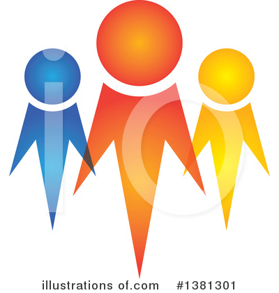Royalty-Free (RF) Unity Clipart Illustration by ColorMagic - Stock Sample #1381301