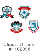 Royalty-Free (RF) university Clipart Illustration #1182396