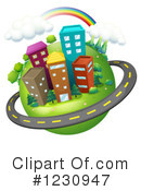 Urban Clipart #1230947 by Graphics RF
