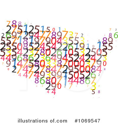 Numbers Clipart #1069547 by Andrei Marincas