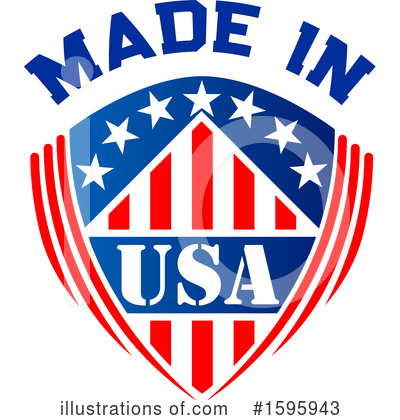 Usa Clipart #1595943 by Vector Tradition SM