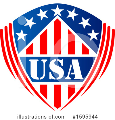 Usa Clipart #1595944 by Vector Tradition SM
