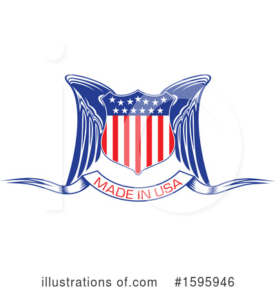 Usa Clipart #1595946 by Vector Tradition SM