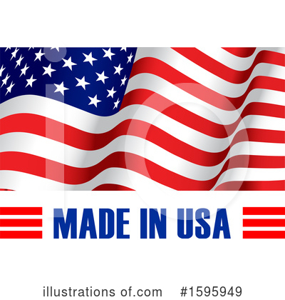 Usa Clipart #1595949 by Vector Tradition SM