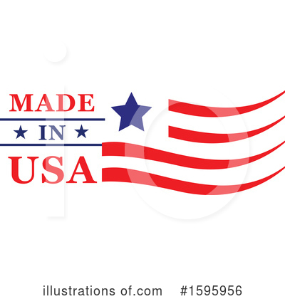 Usa Clipart #1595956 by Vector Tradition SM